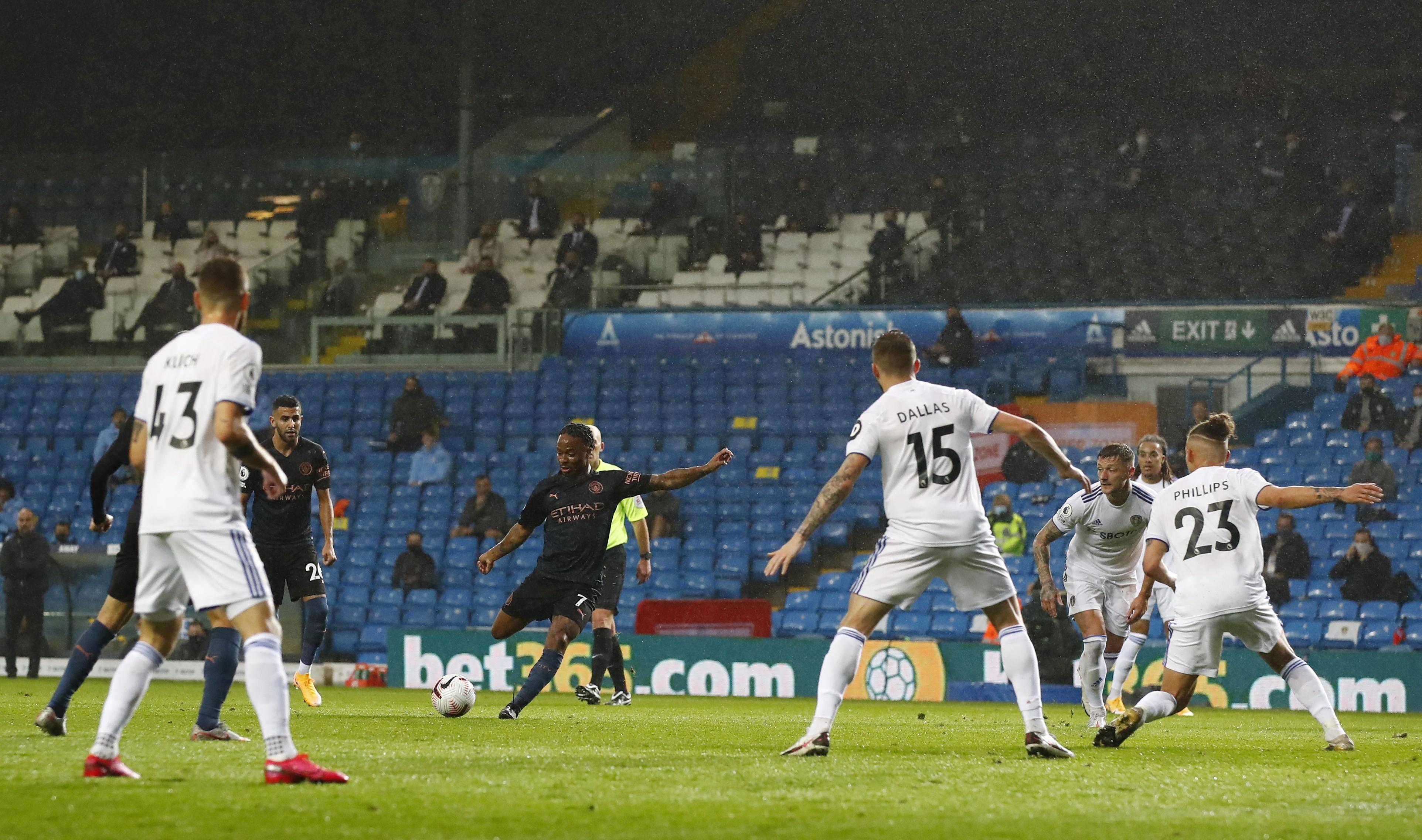 Leeds Utd dau voi Man City anh 12