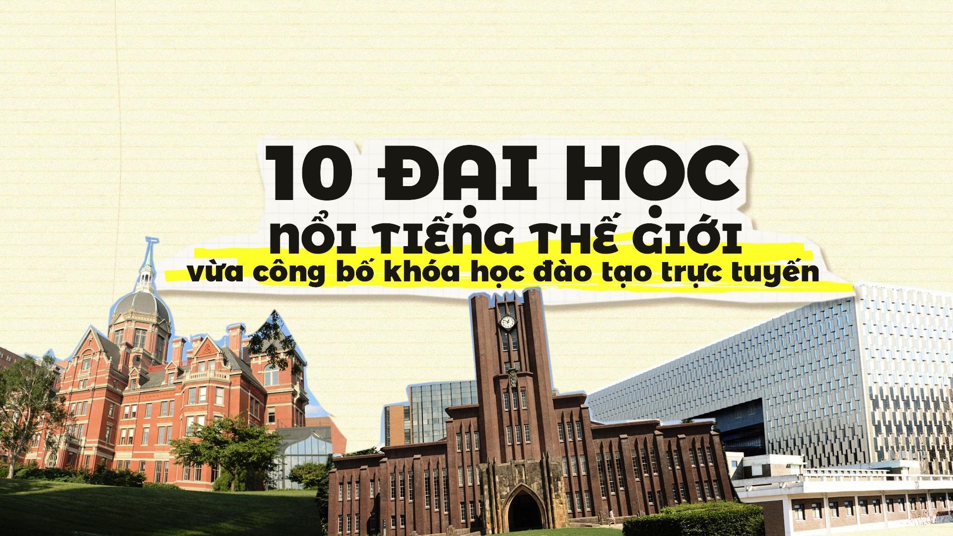 10 dai hoc noi tieng the gioi cong bo khoa hoc dao tao truc tuyen hinh anh 1