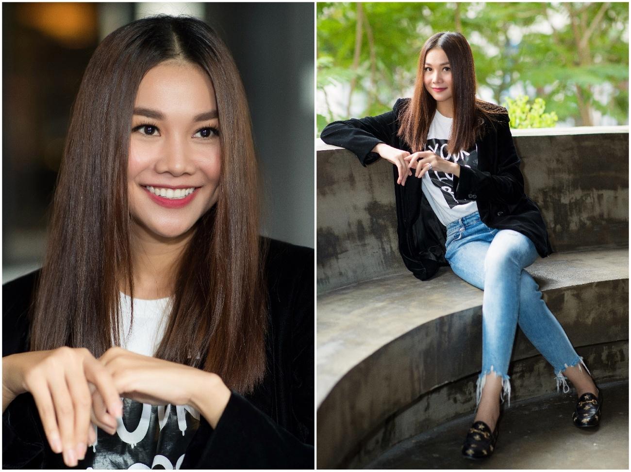 Huan luyen vien The Face 2018 Thanh Hang anh 13