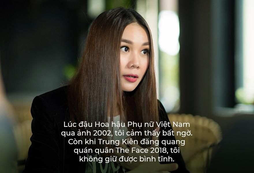Huan luyen vien The Face 2018 Thanh Hang anh 7