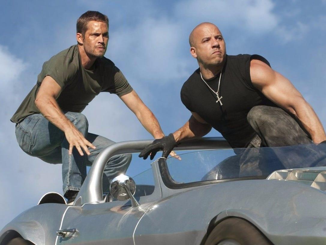 The Rock va Vin Diesel anh 6