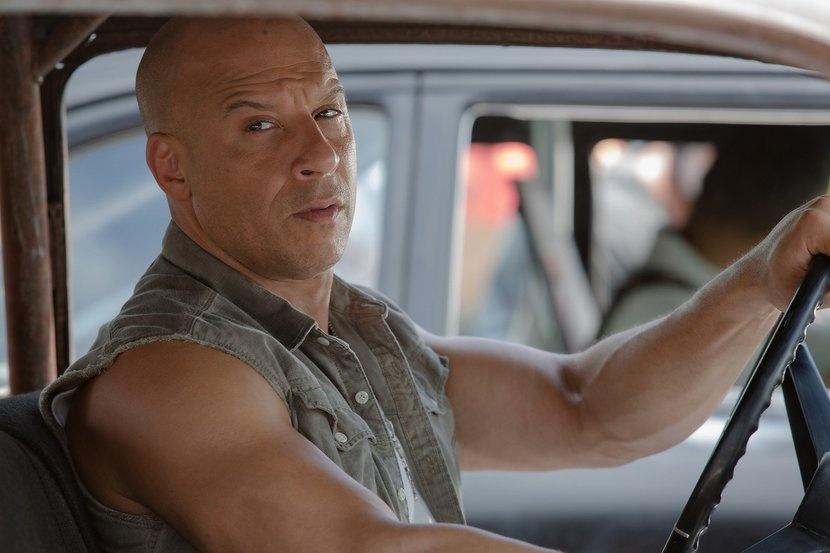 The Rock va Vin Diesel anh 3