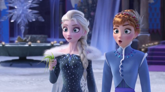 Frozen,  Nu hoang bang gia,  Elsa anh 3