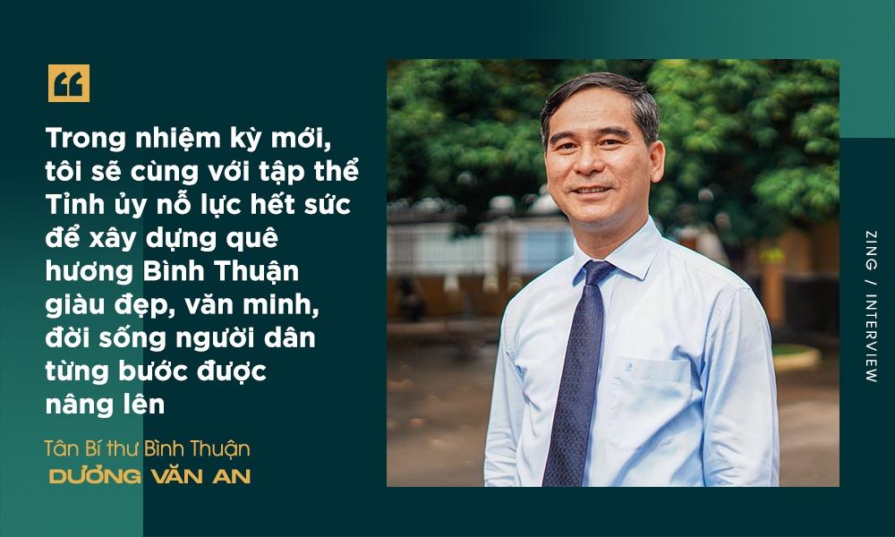Tan Bi thu Binh Thuan Duong Van An: Thay doi tu duy quan ly anh 2