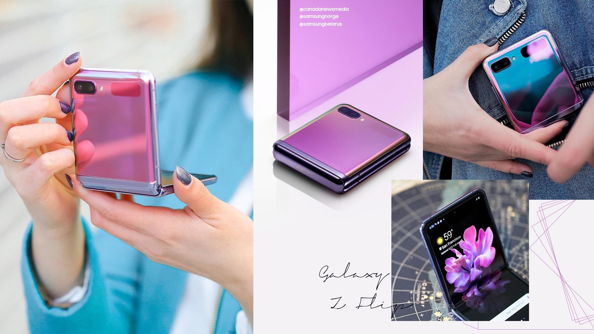 Galaxy Z Flip anh 2