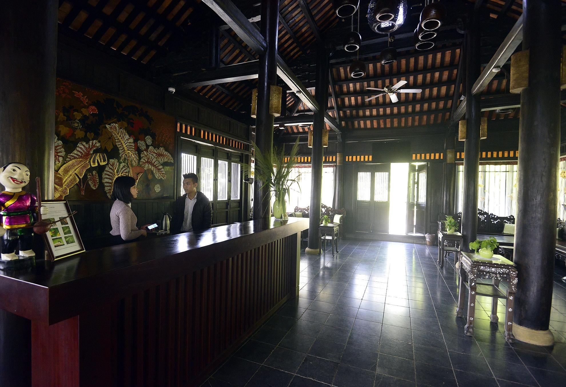 Toan canh resort hoanh trang khong phep o Ba Vi hinh anh 9