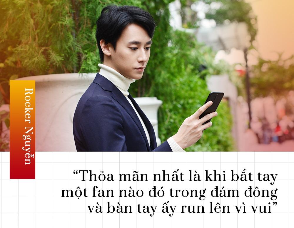 Rocker Nguyen: 'Nghe si dau duoc quyen lon tieng voi khan gia' hinh anh 8