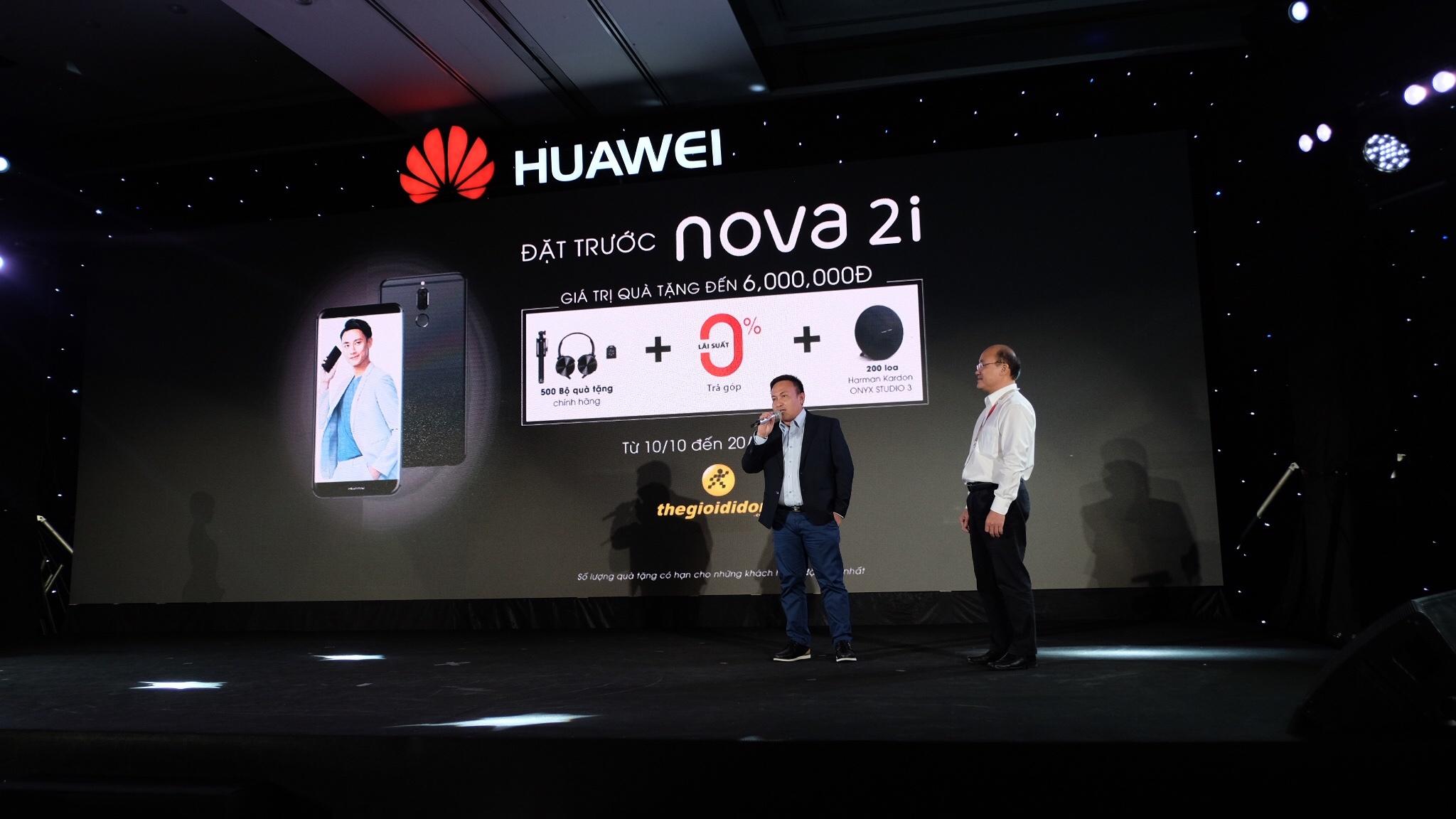 Huawei ra mat smartphona Nova 2i anh 12