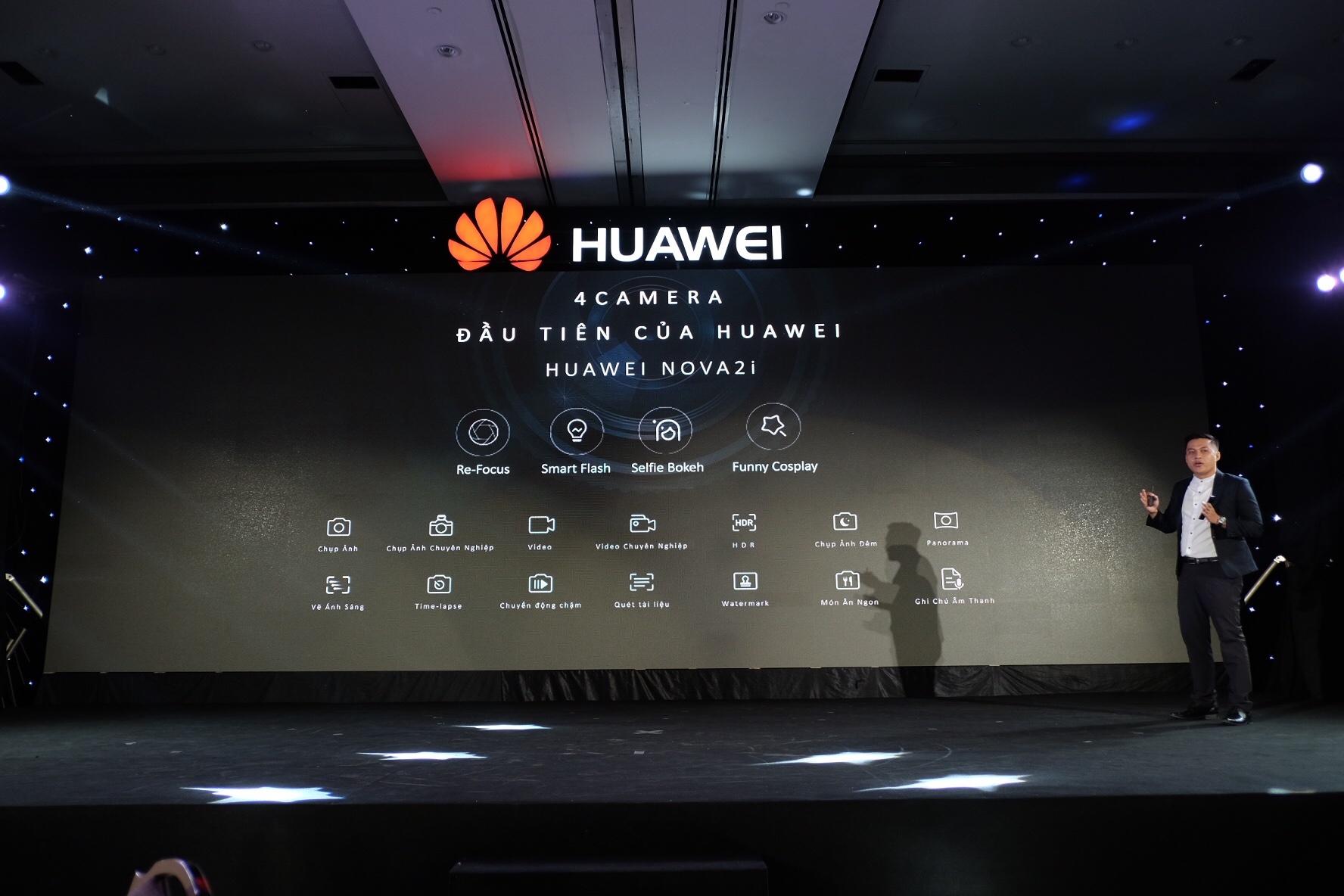 Huawei ra mat smartphona Nova 2i anh 6