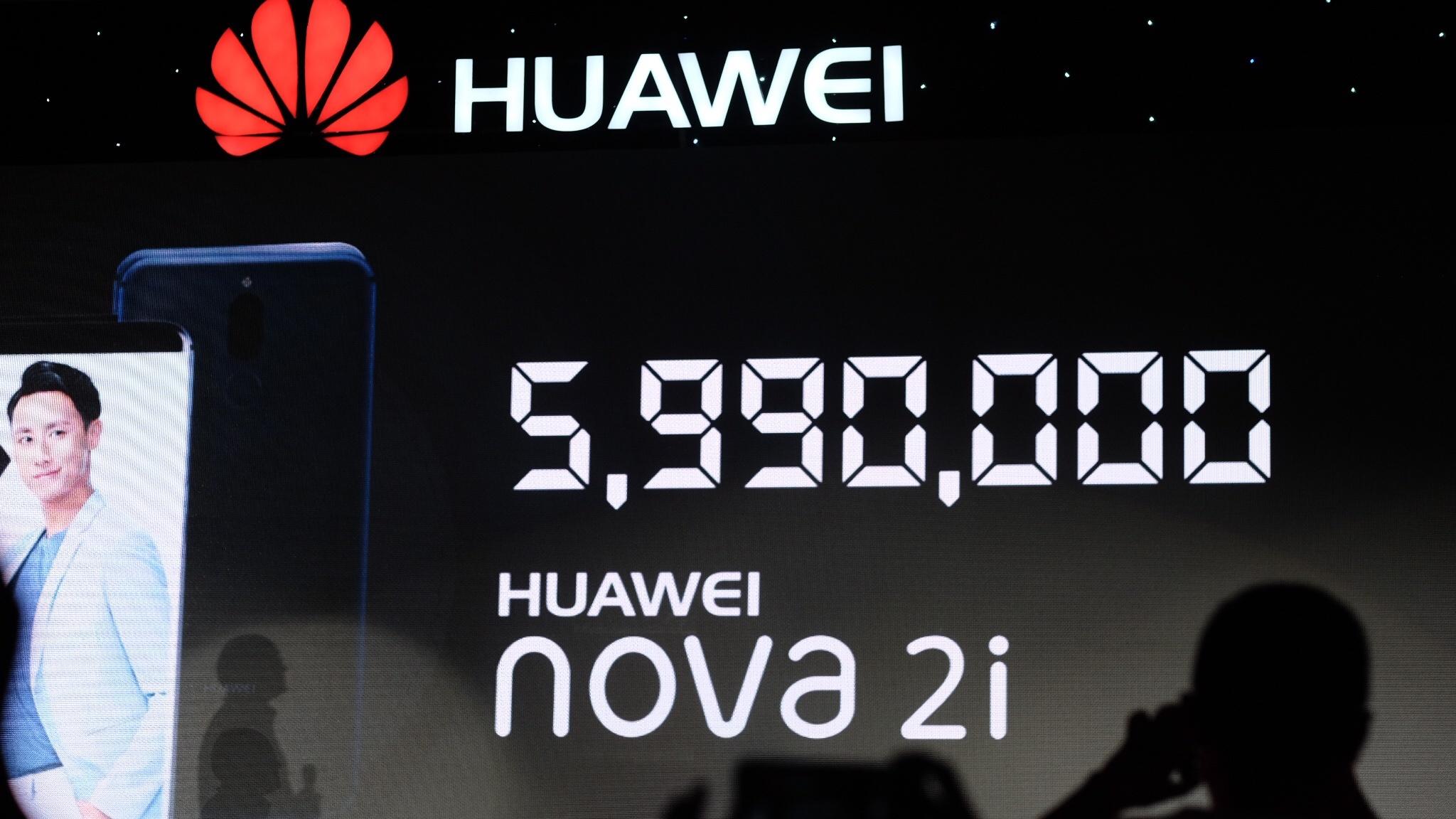 Huawei ra mat smartphona Nova 2i anh 11