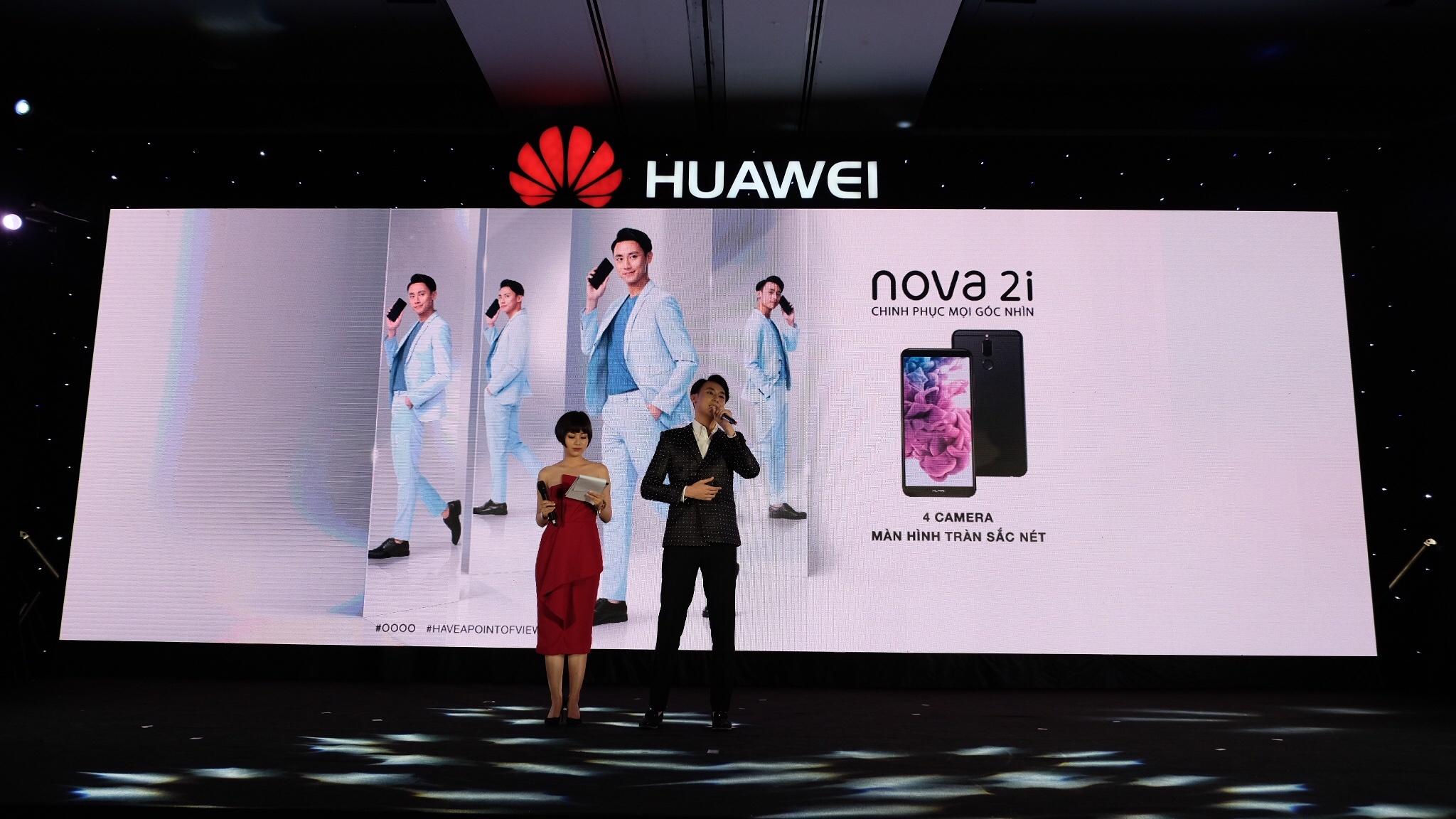 Huawei ra mat smartphona Nova 2i anh 8