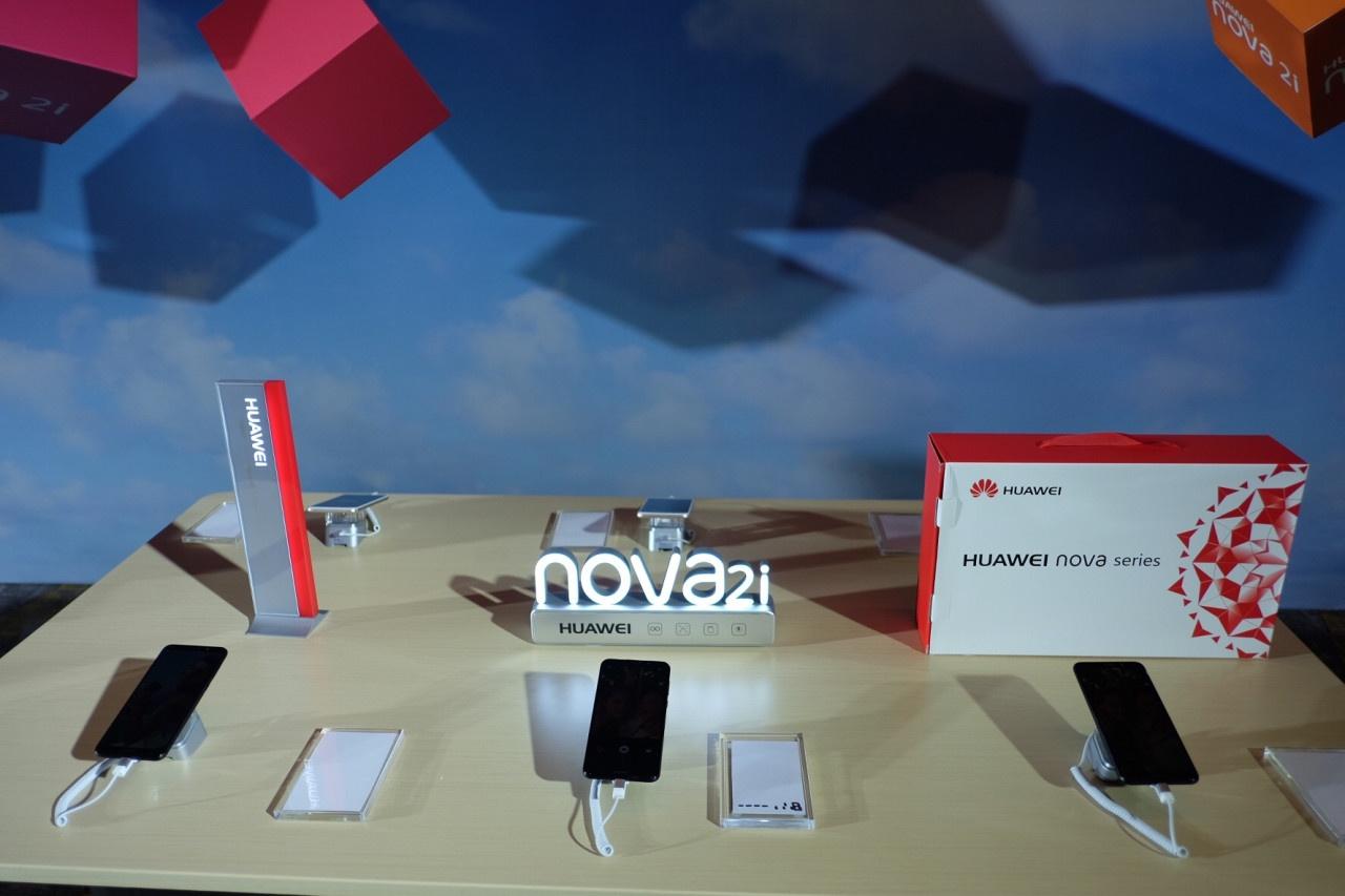 Huawei ra mat smartphona Nova 2i anh 13