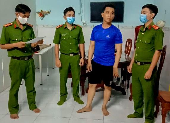 bat nhom tin dung den o Binh Phuoc anh 1