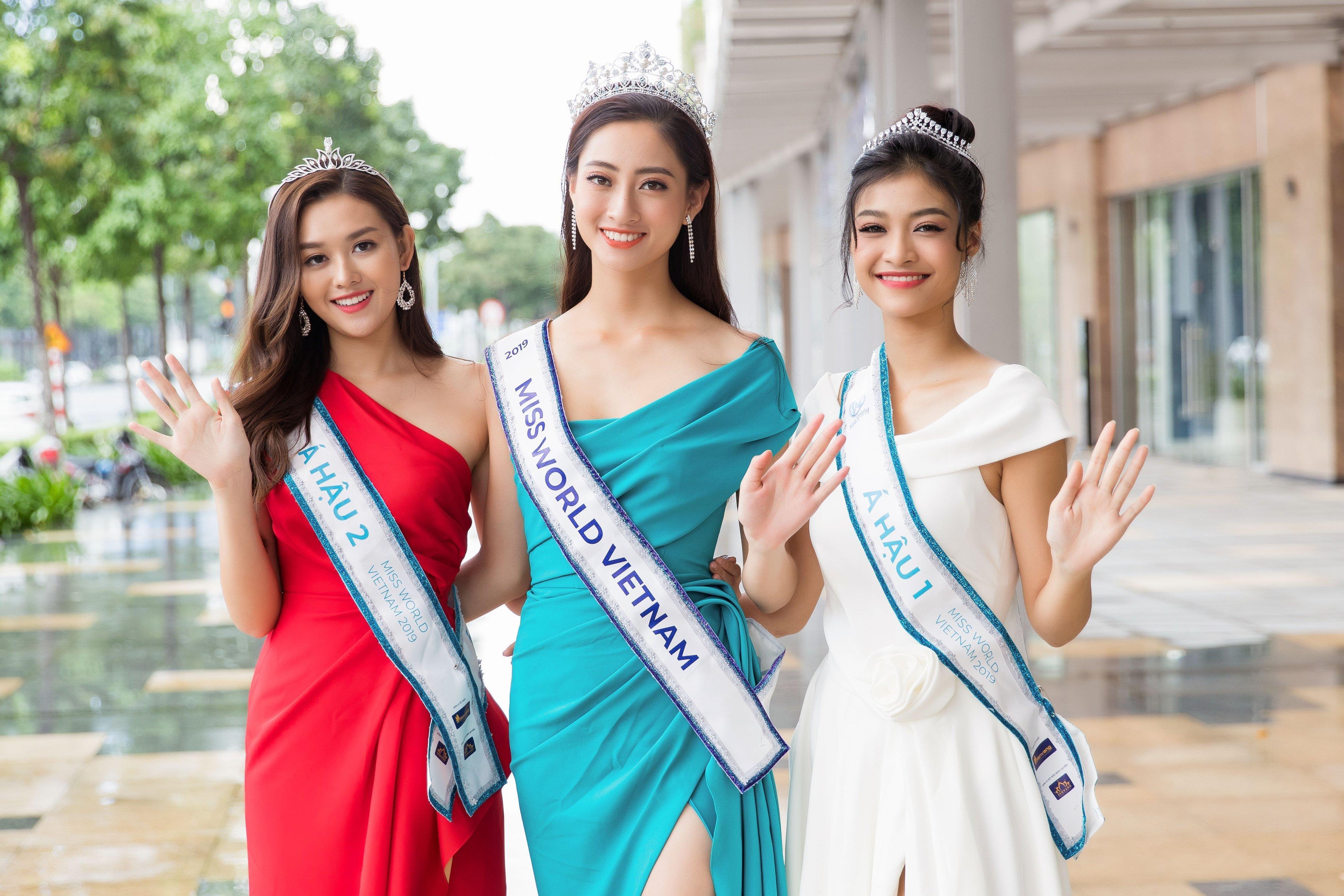 Hoa hau The gioi Viet Nam 2019 anh 10