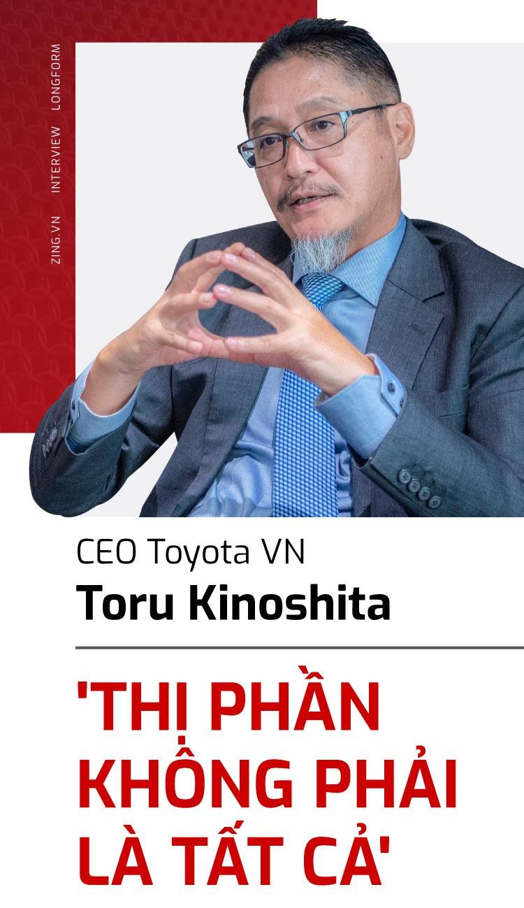 CEO Toyota VN: 'Thị phần không phải là tất cả'