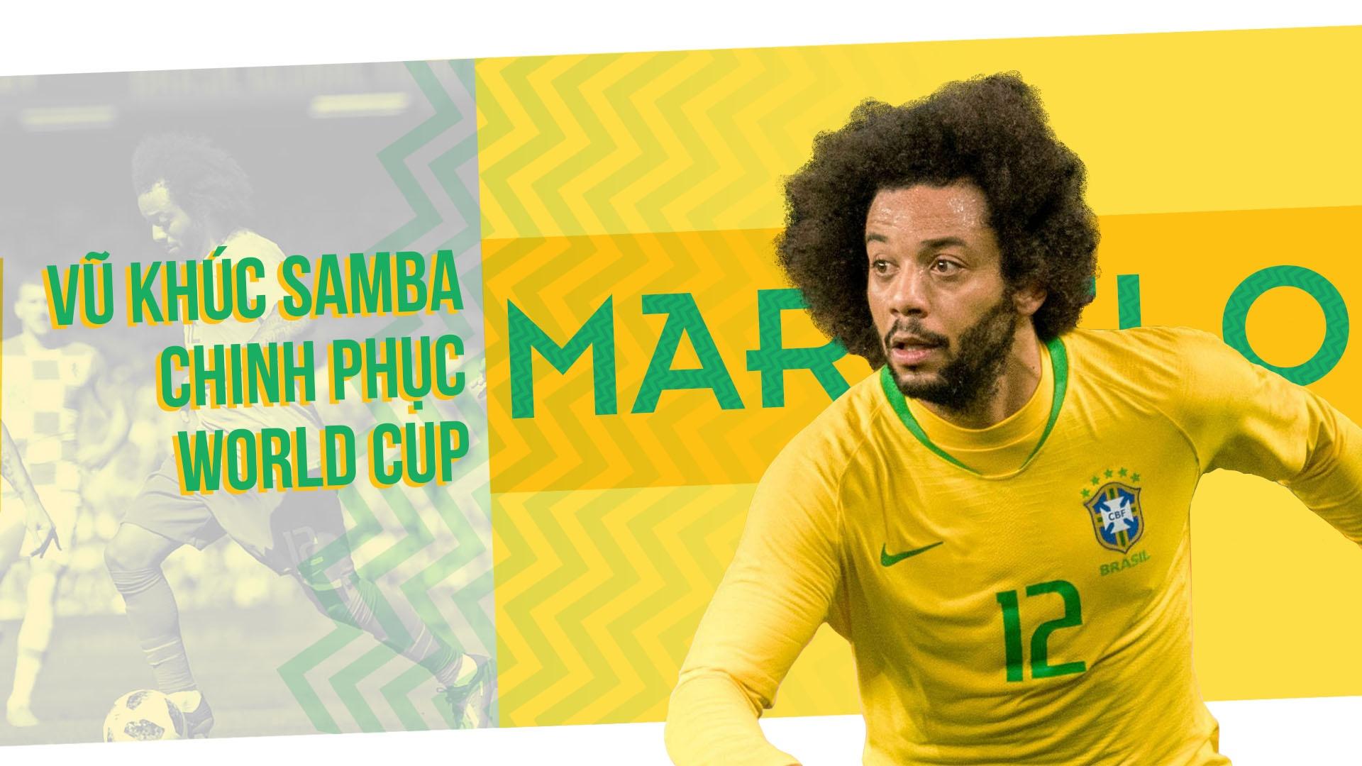 Marcelo – Vu khuc Samba chinh phuc World Cup anh 2