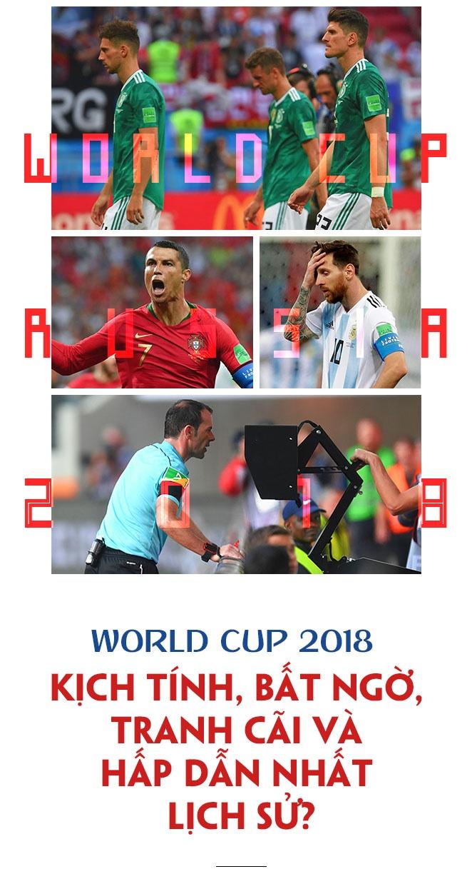 World Cup 2018: Kich tinh, bat ngo, tranh cai va hap dan nhat lich su? hinh anh 1