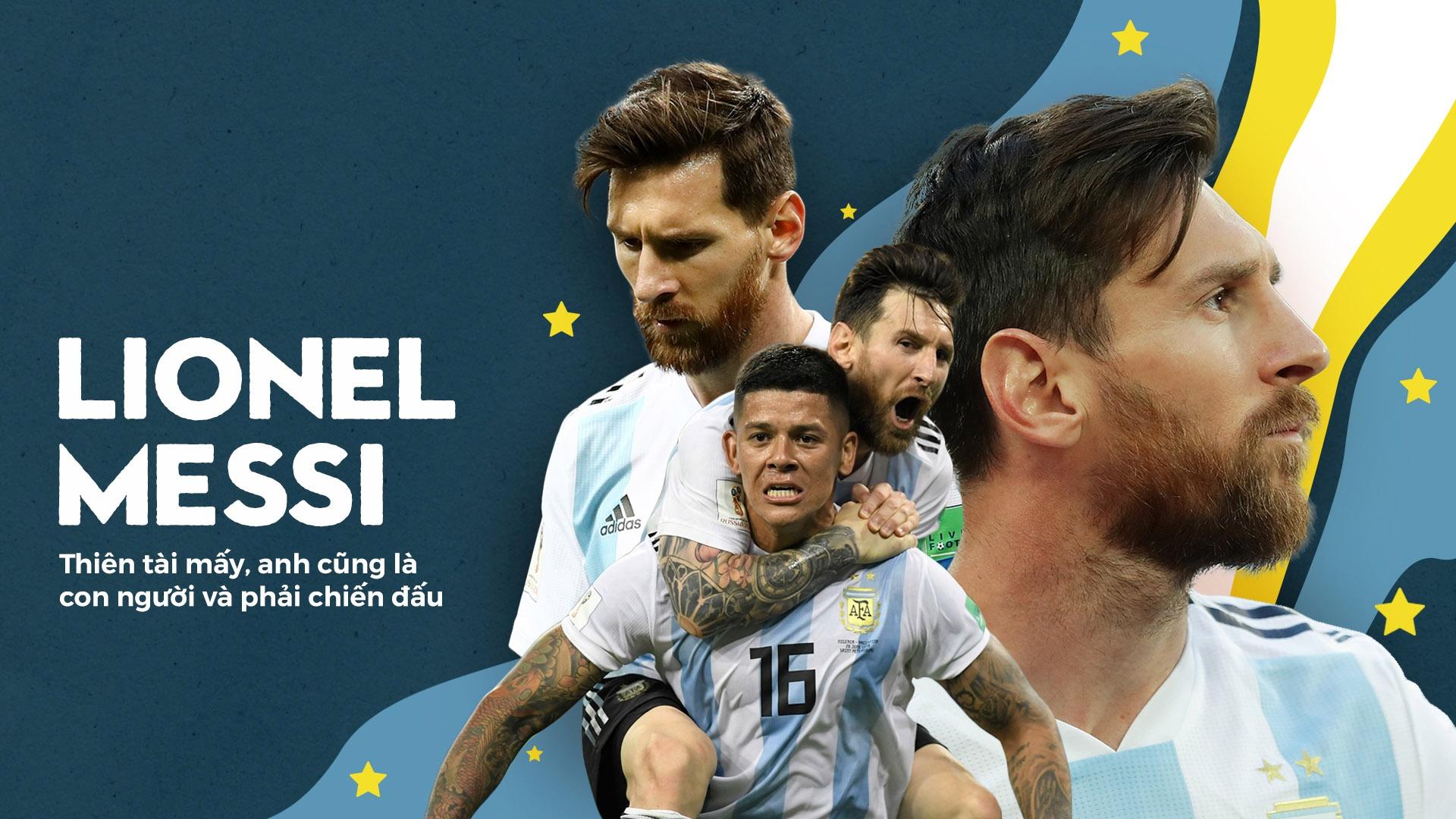 Lionel Messi: Thien tai may, anh cung la con nguoi, va phai chien dau hinh anh 2