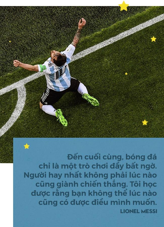 Lionel Messi: Thien tai may, anh cung la con nguoi, va phai chien dau hinh anh 9