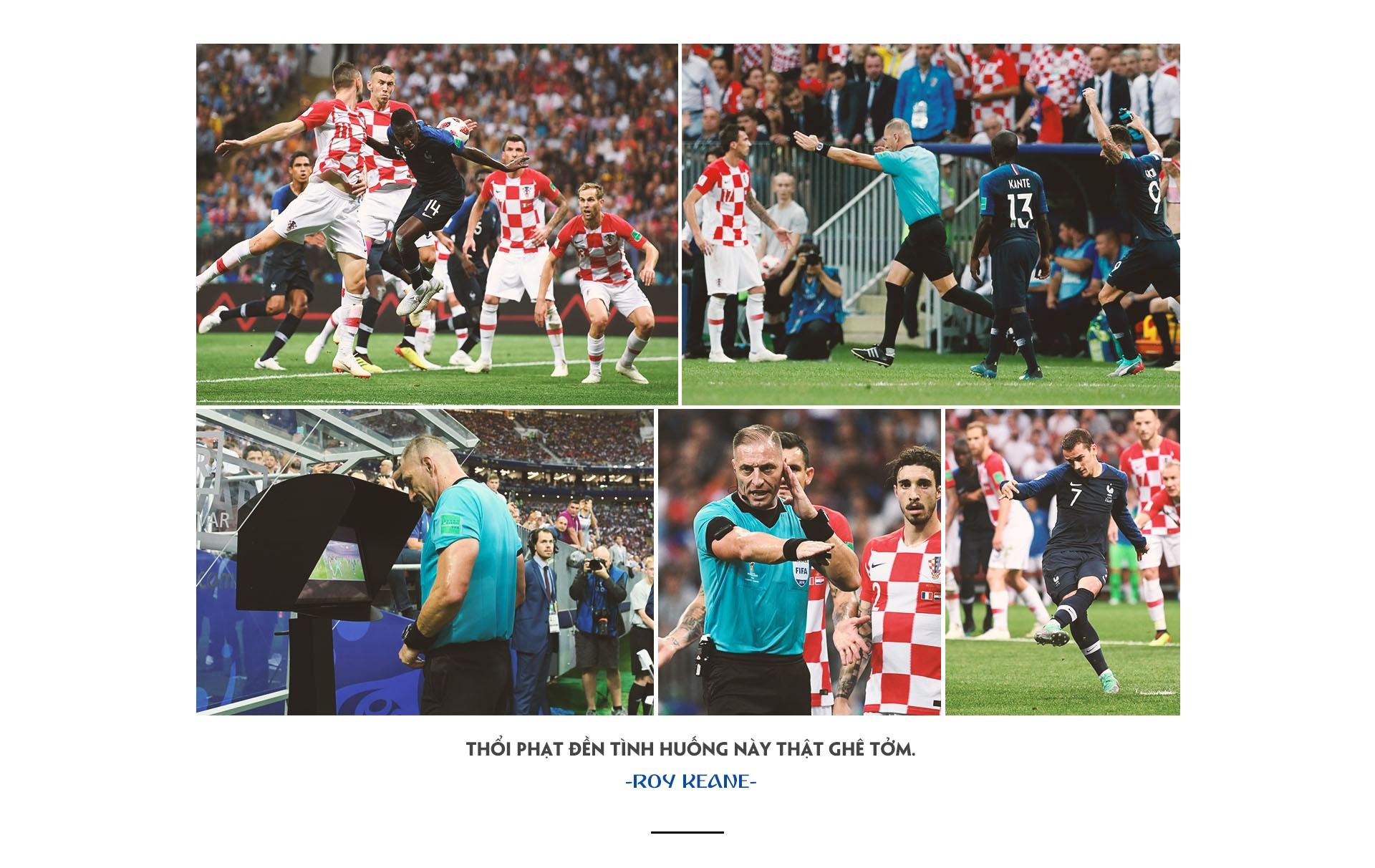 World Cup 2018,  Phap vs Croatia,  World Cup anh 13