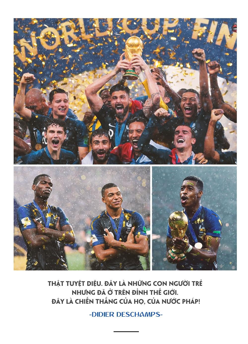 World Cup 2018,  Phap vs Croatia,  World Cup anh 16