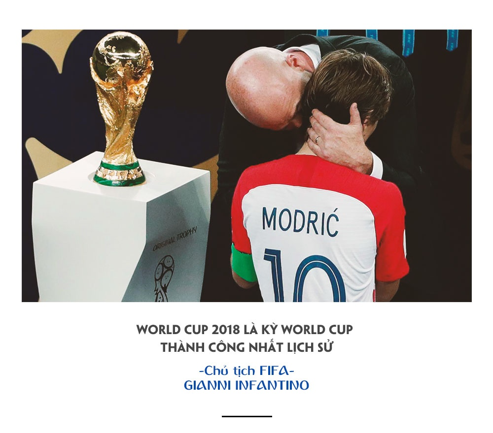 World Cup 2018,  Phap vs Croatia,  World Cup anh 19