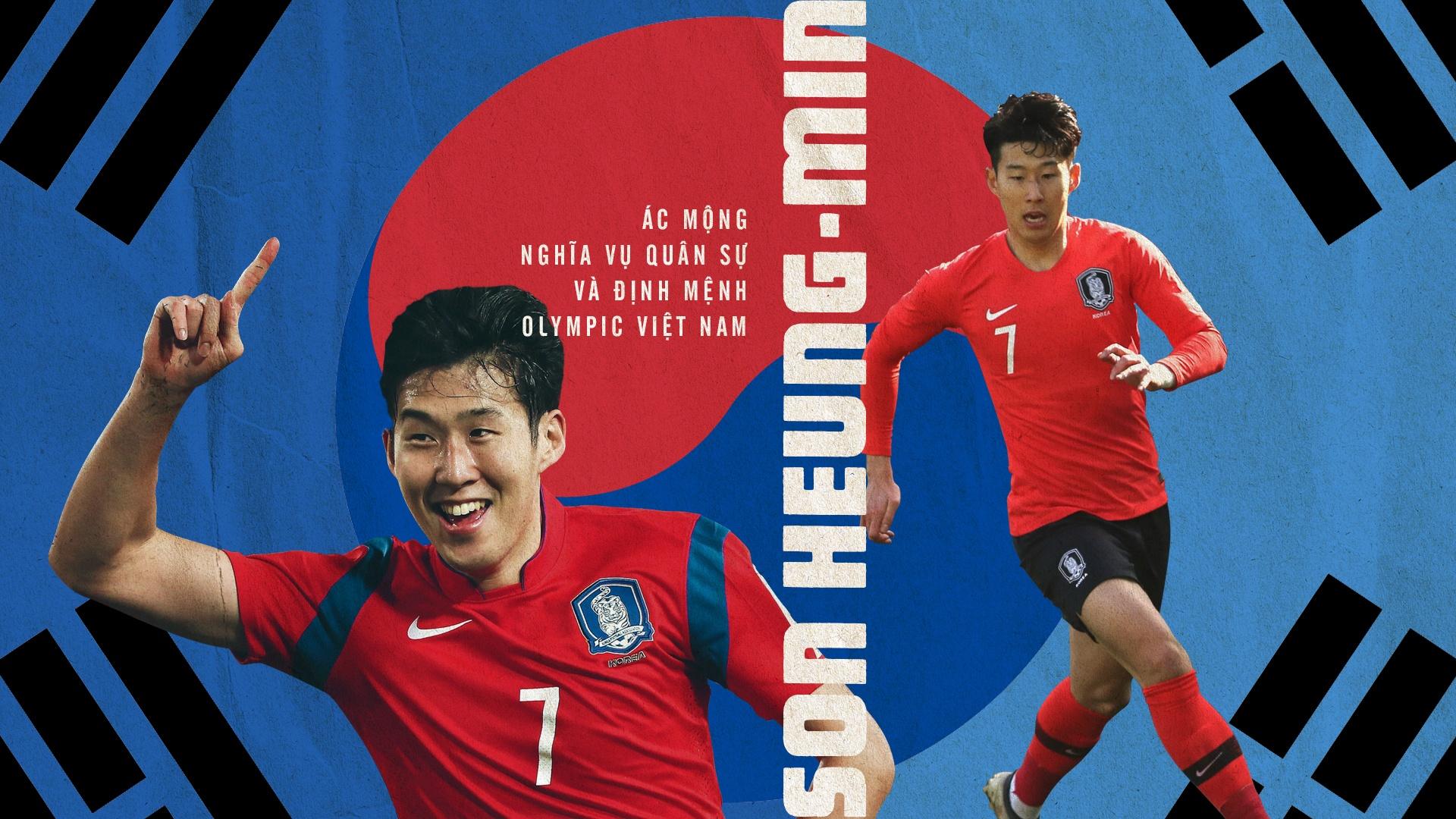 Son Heung-min: Ac mong nghia vu quan su va dinh menh Olympic Viet Nam hinh anh 2