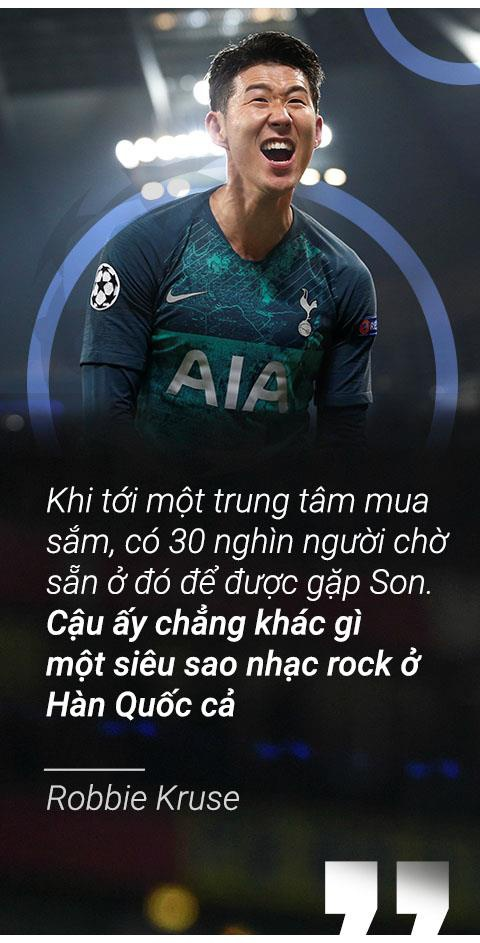 Son Heung-min vo dich Champions League de vuot Park Ji-sung hinh anh 8