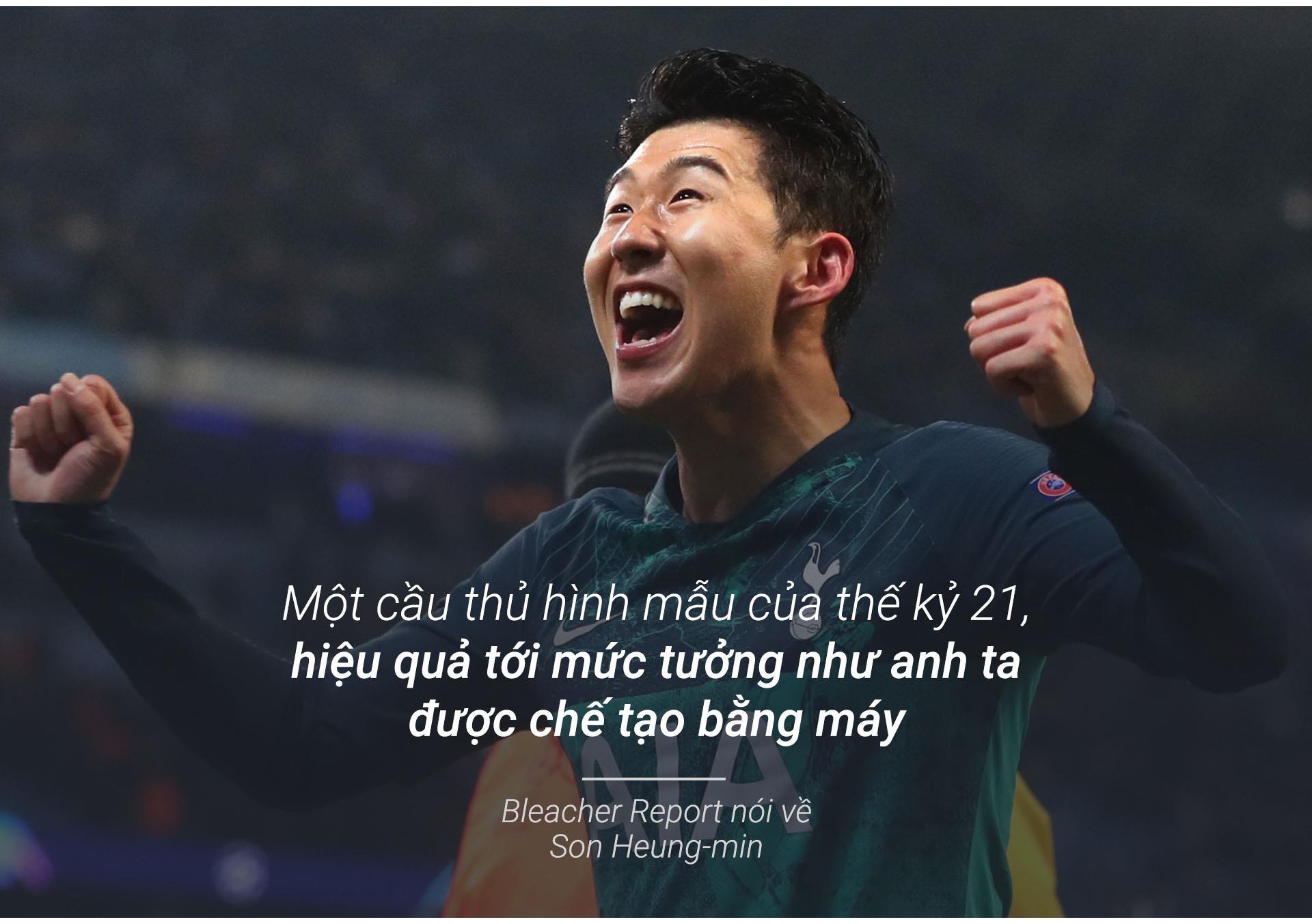 Son Heung-min vo dich Champions League de vuot Park Ji-sung hinh anh 13