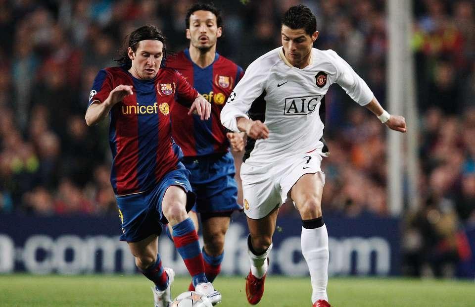 Ronaldo dau Messi anh 2