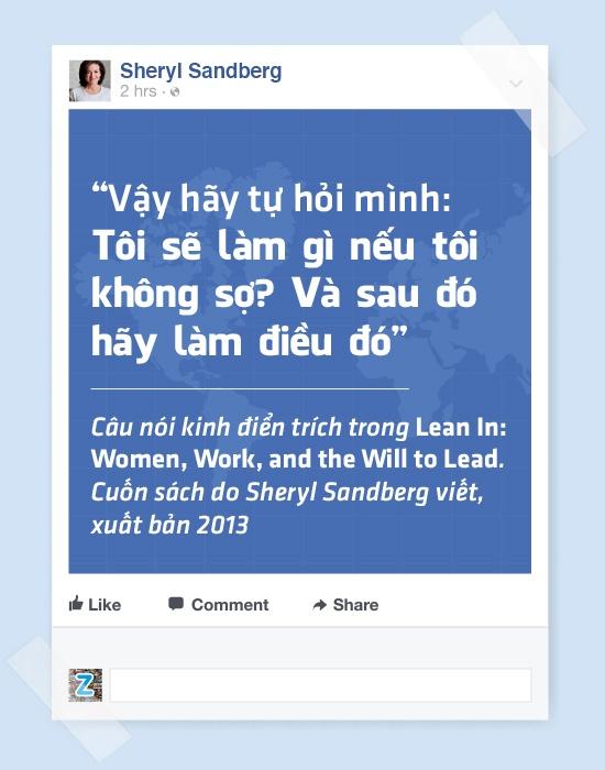 Sheryl Sandberg - nu chu nhan thuc su cua de che Facebook hinh anh 6