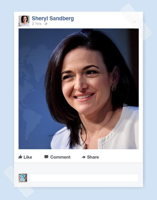 Nu chu nhan cua de che Facebook anh 9