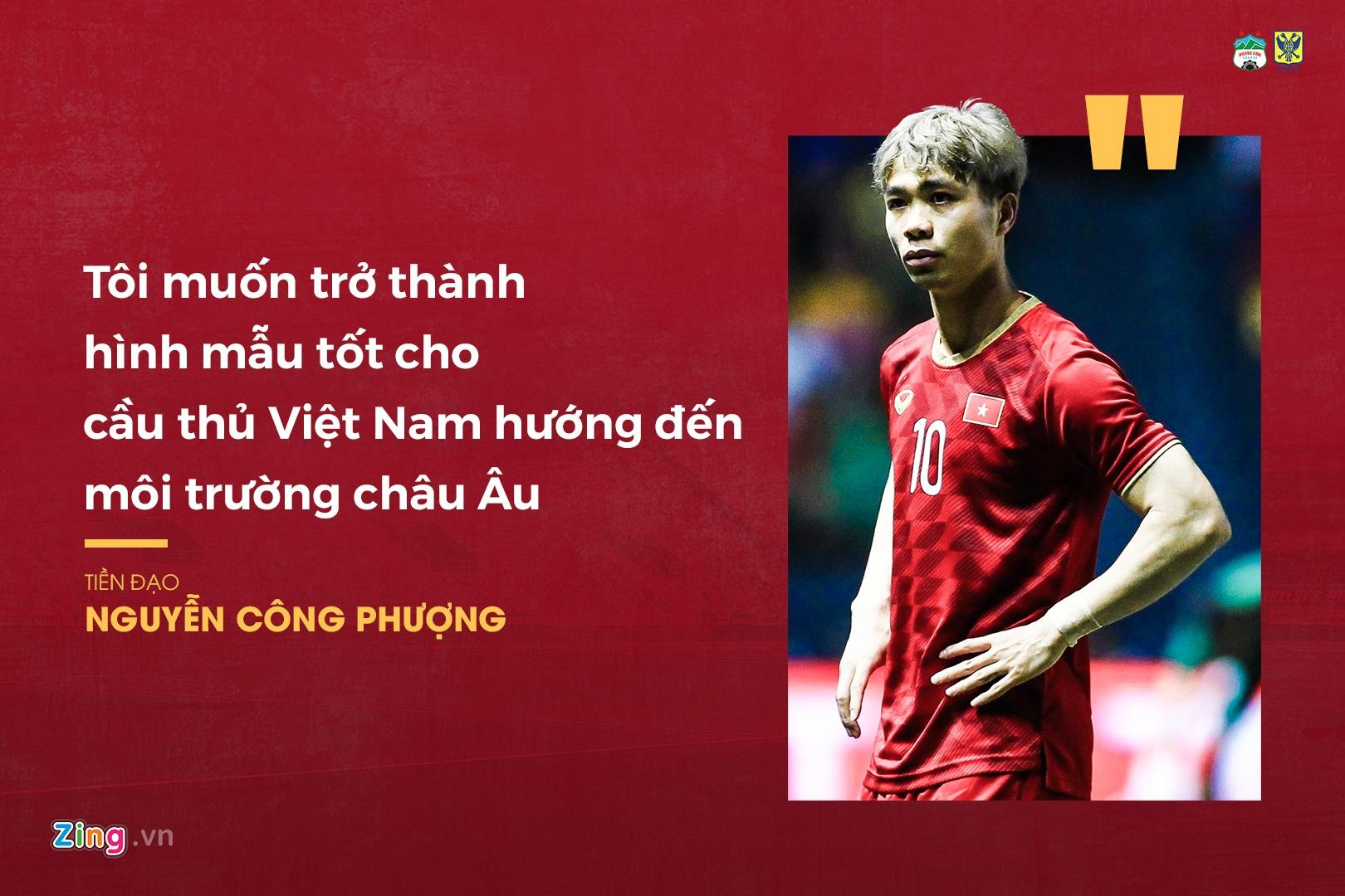 Việc Công Phượng sang châu Âu thi đấu sau khi có 4 tháng khoác áo Incheon United nhận được sự quan tâm của báo chí Hàn Quốc.Trả lời truyền thông nước này, chân sút người Nghệ An phát biểu: