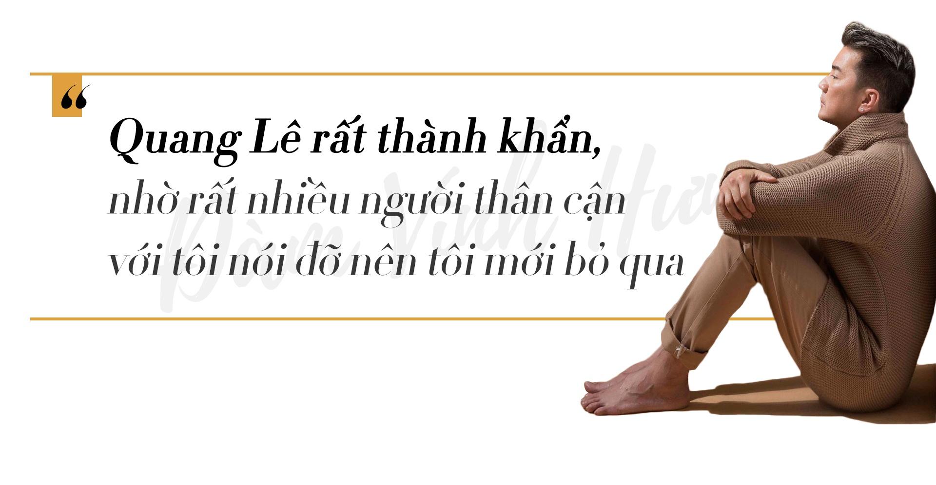 Dam Vinh Hung: 'Quang Le phai nan ni suot 9 thang toi moi bo qua' hinh anh 5