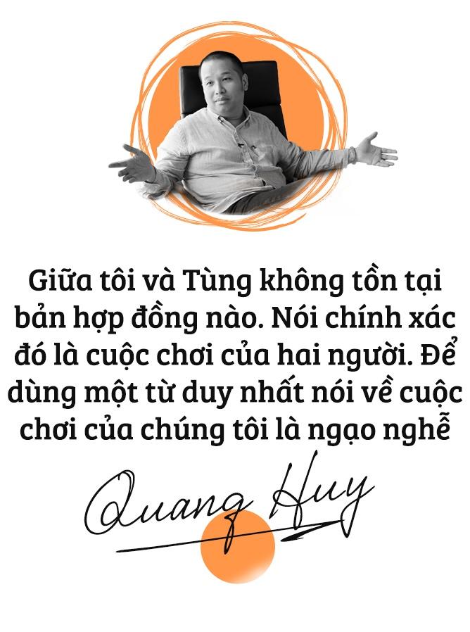 Quang Huy: 'Toi va Son Tung M-TP da choi lon va chien thang ngao nghe' hinh anh 2