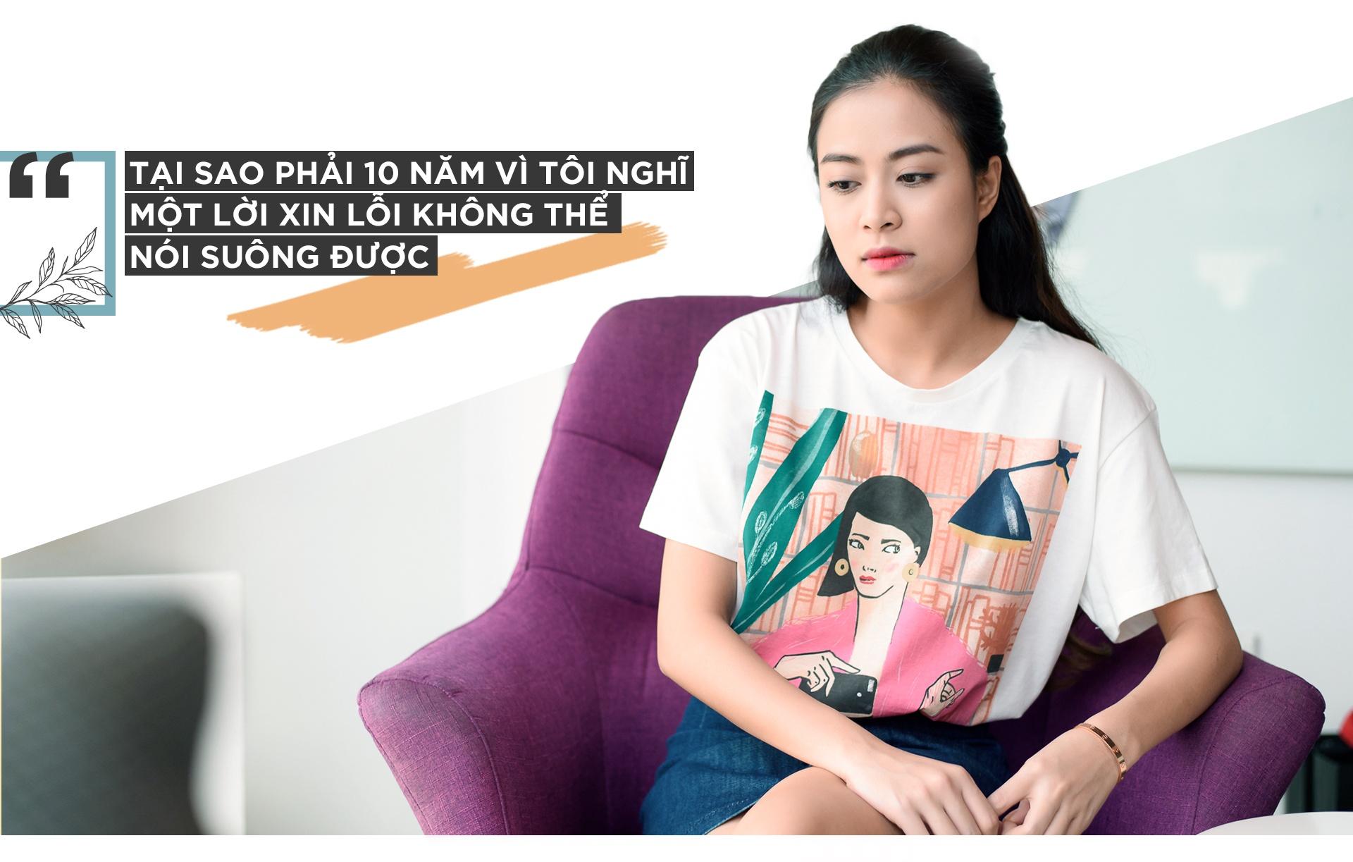 Hoang Thuy Linh khoc vi mang ban an 10 nam qua anh 5