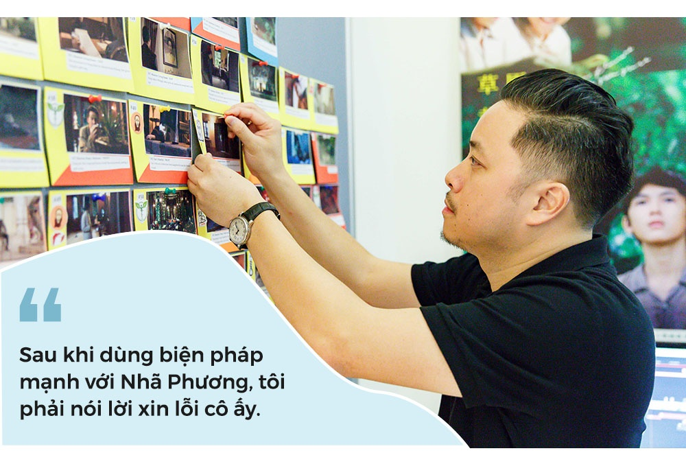 Victor Vu: Toi da xin loi Nha Phuong sau khi dap monitor o phim truong hinh anh 10
