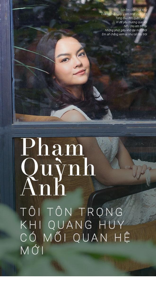 Pham Quynh Anh: 'Toi co luc choi voi sau khi ly hon anh Quang Huy' hinh anh 1