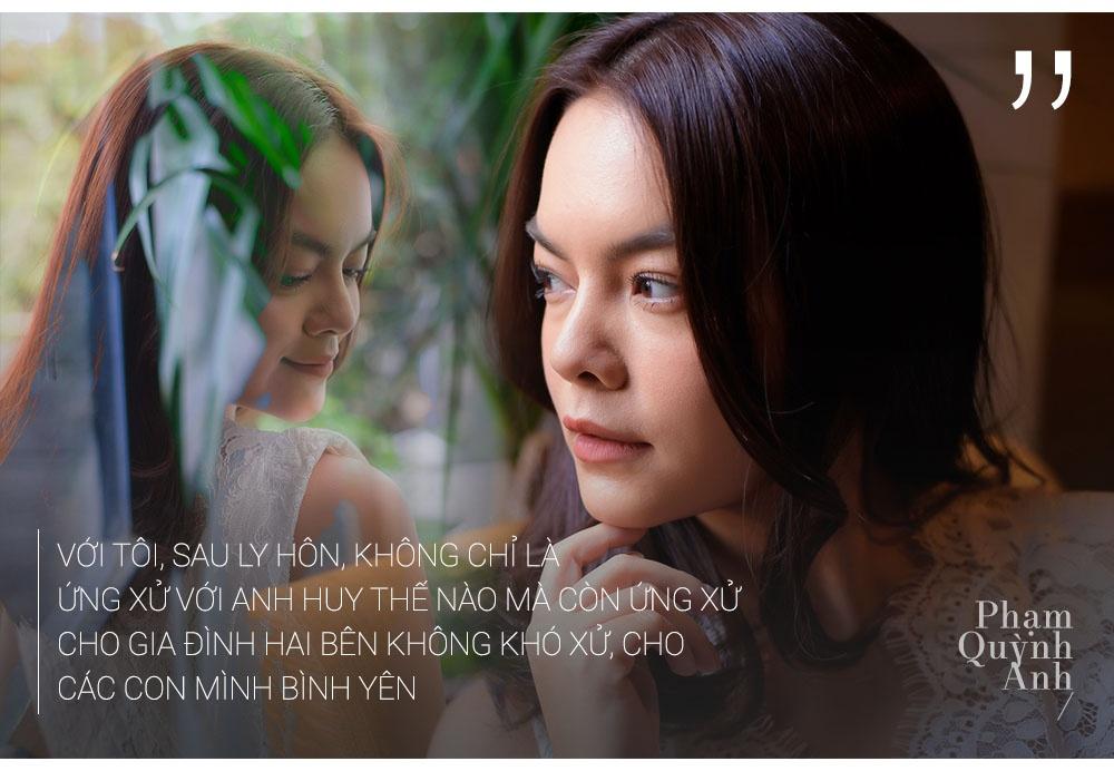 Pham Quynh Anh: 'Toi co luc choi voi sau khi ly hon anh Quang Huy' hinh anh 8