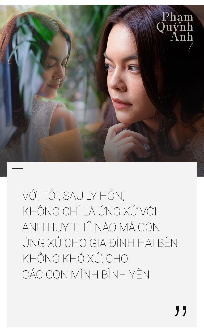 Pham Quynh Anh: 'Toi co luc choi voi sau khi ly hon anh Quang Huy' hinh anh 7