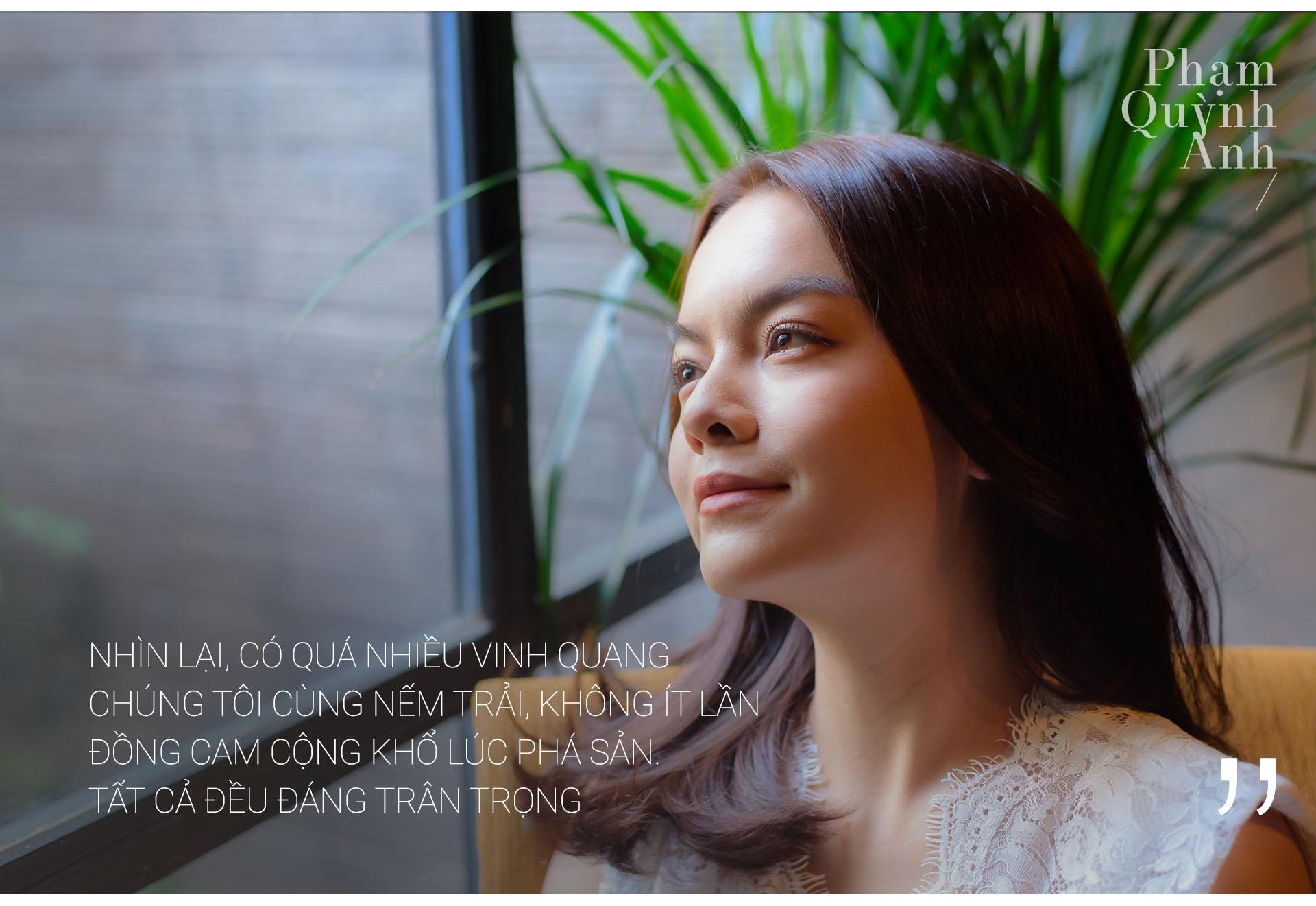 Pham Quynh Anh: 'Toi co luc choi voi sau khi ly hon anh Quang Huy' hinh anh 15