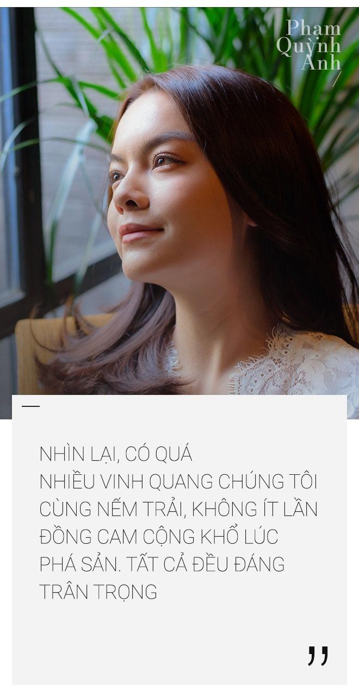 Pham Quynh Anh: 'Toi co luc choi voi sau khi ly hon anh Quang Huy' hinh anh 14