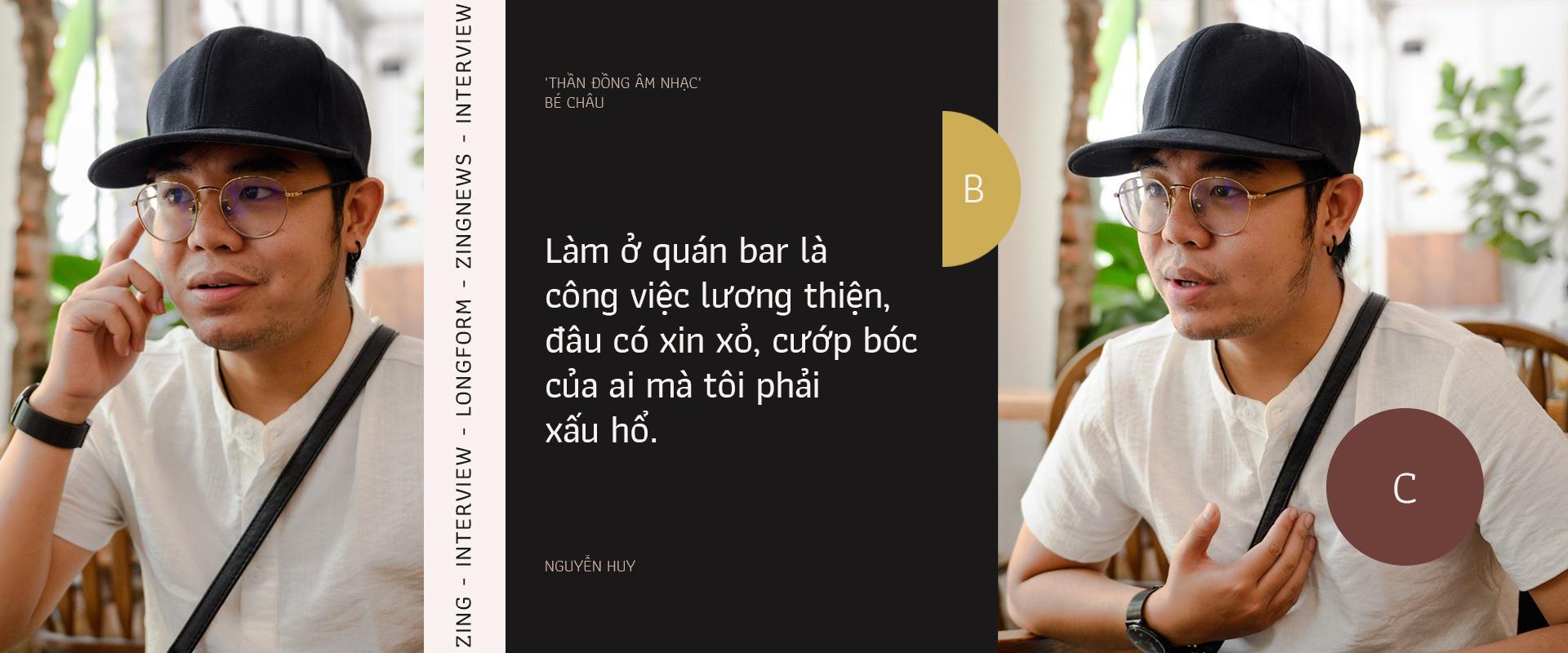 than dong am nhac be Chau lam nhan vien quan bar anh 2