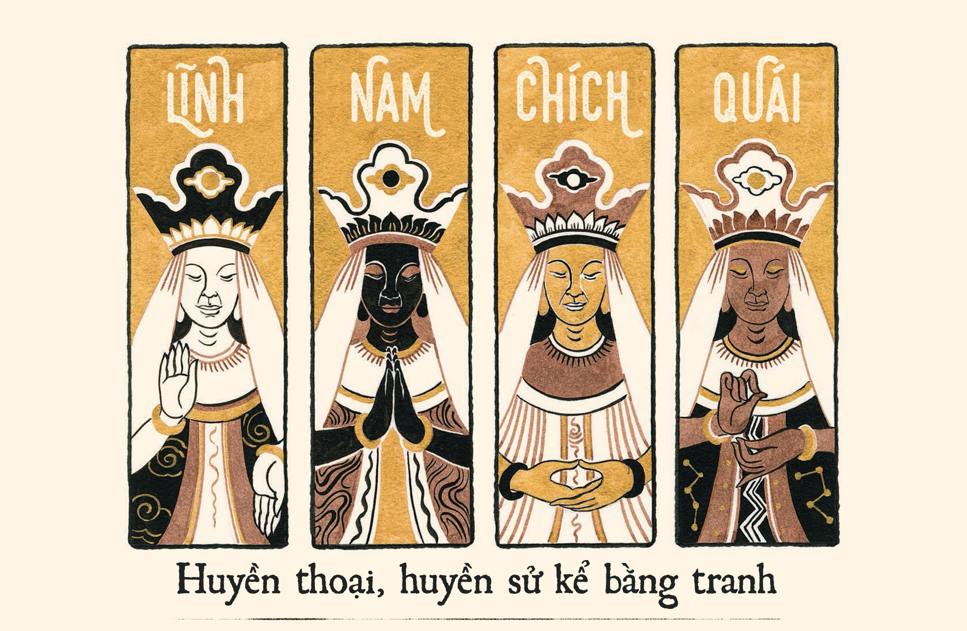 Linh Nam chich quai,  Ta Huy Long,  Art Book anh 2
