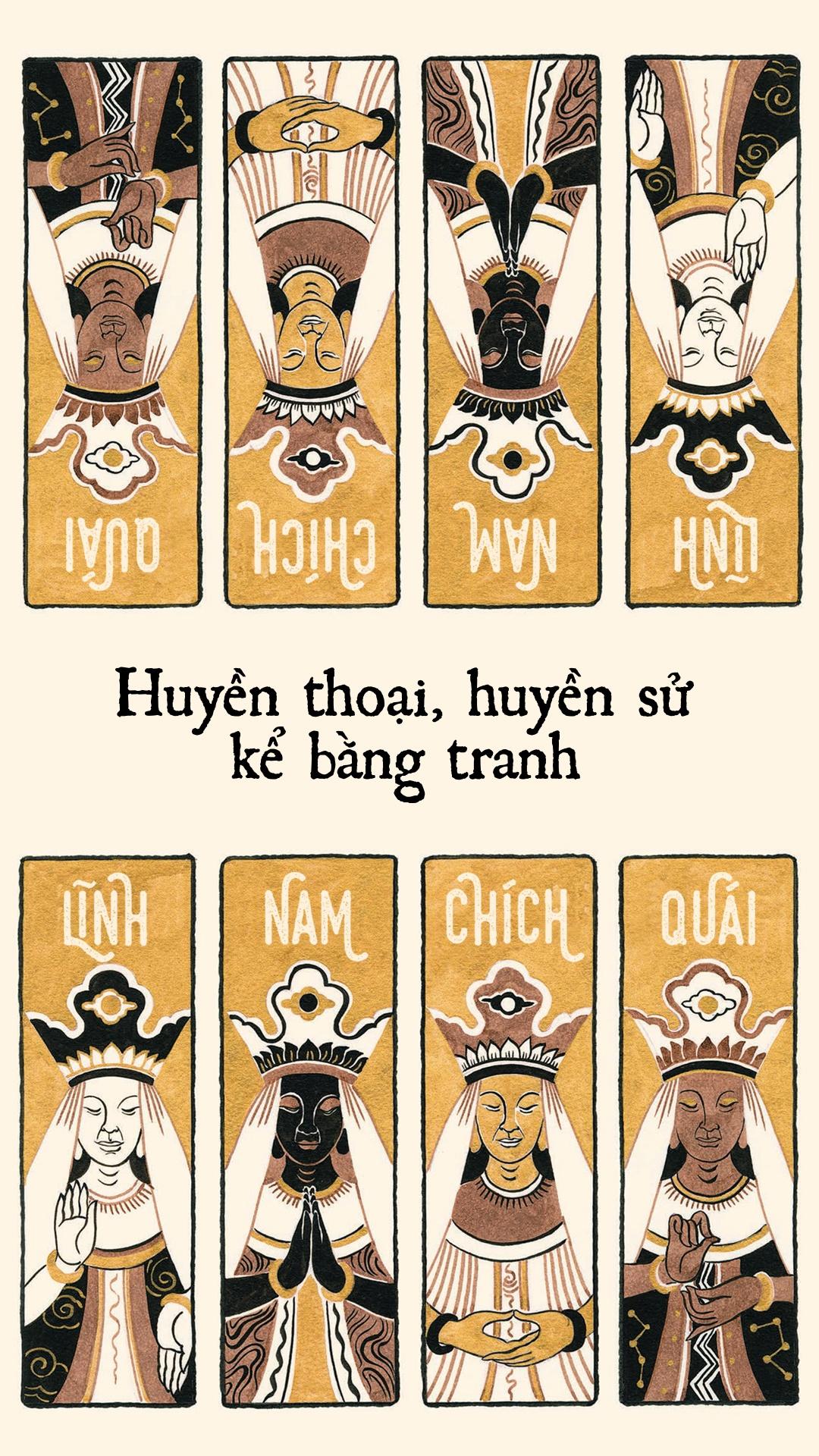 'Linh Nam chich quai' - huyen thoai, huyen su ke bang tranh hinh anh 1