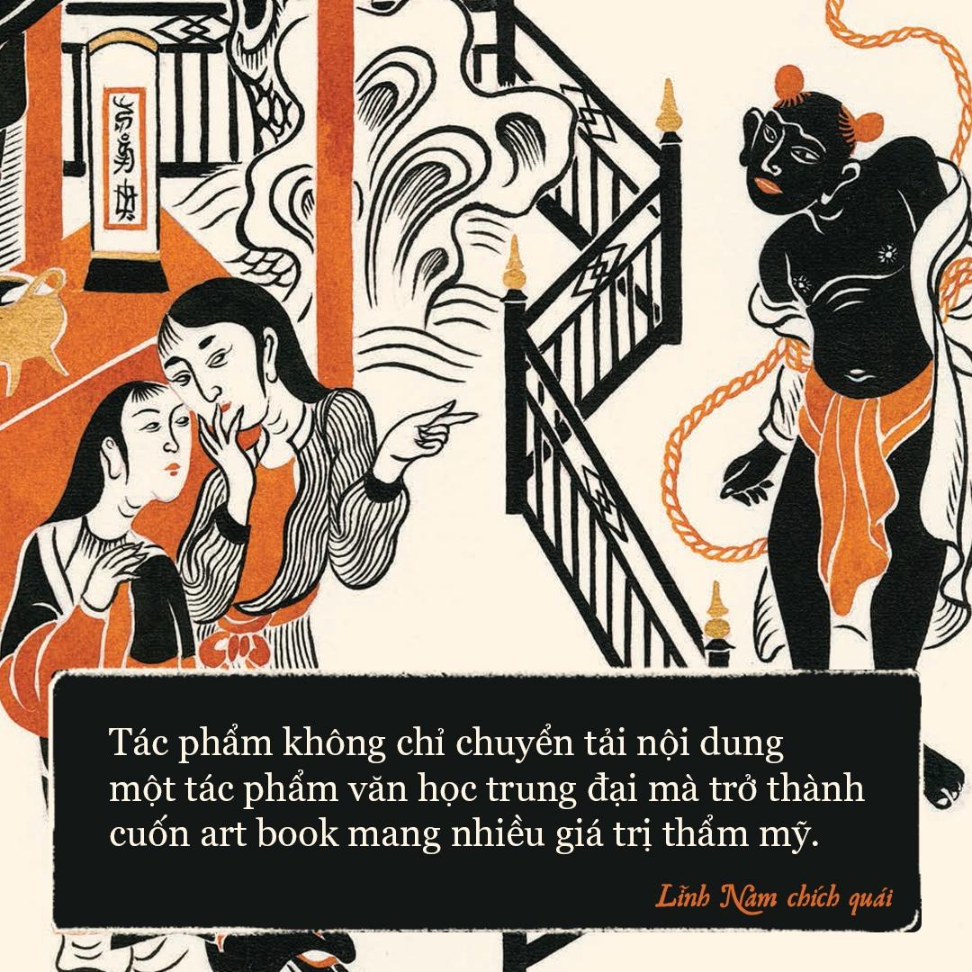 'Linh Nam chich quai' - huyen thoai, huyen su ke bang tranh hinh anh 7