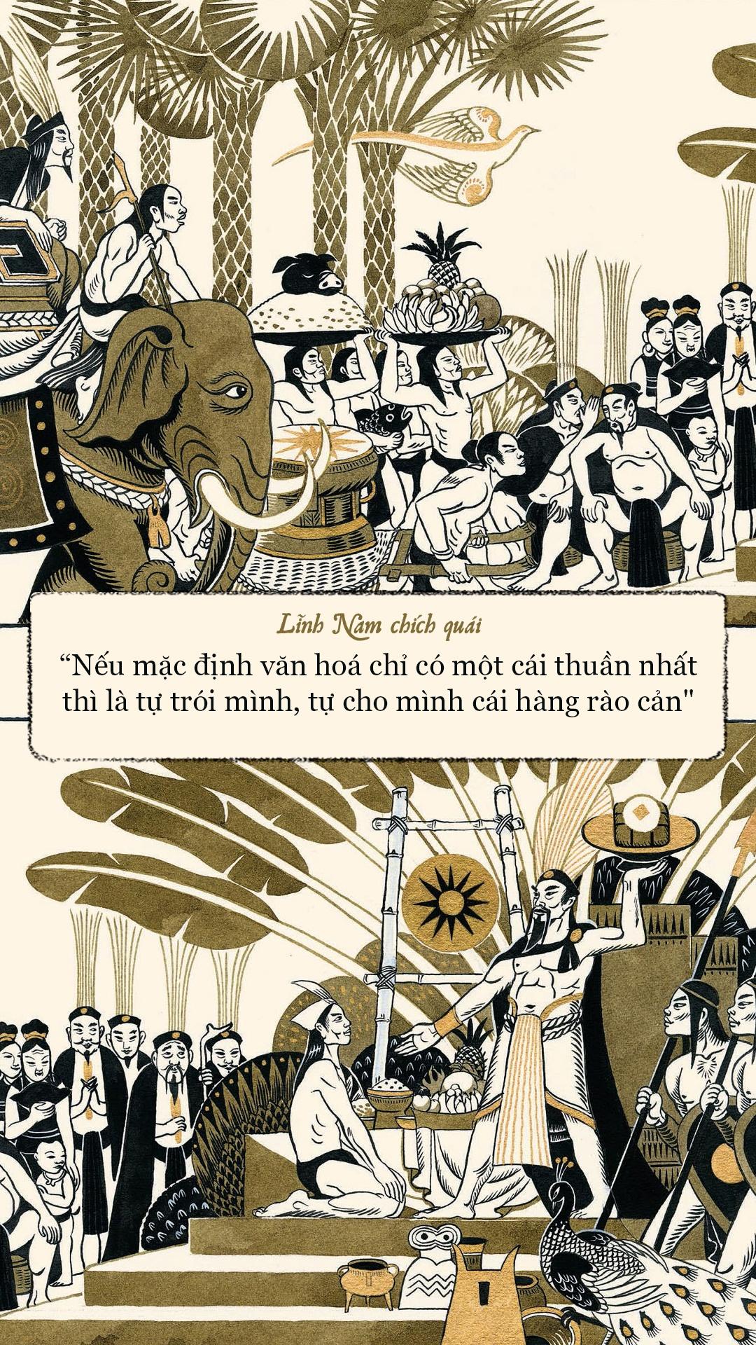 'Linh Nam chich quai' - huyen thoai, huyen su ke bang tranh hinh anh 13