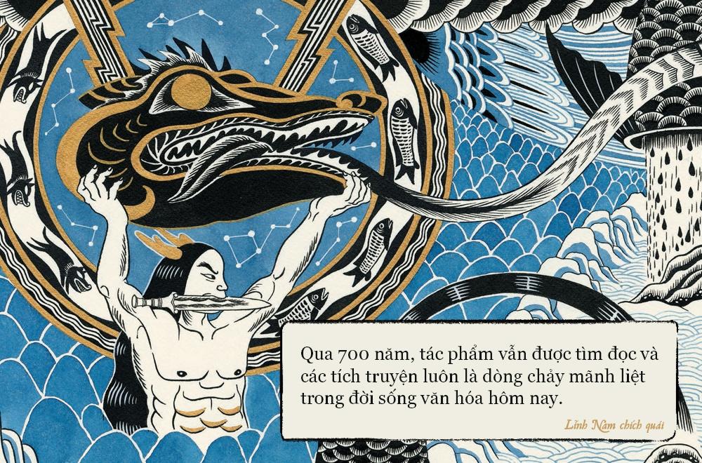 'Linh Nam chich quai' - huyen thoai, huyen su ke bang tranh hinh anh 4