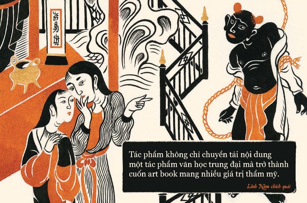 'Linh Nam chich quai' - huyen thoai, huyen su ke bang tranh hinh anh 8