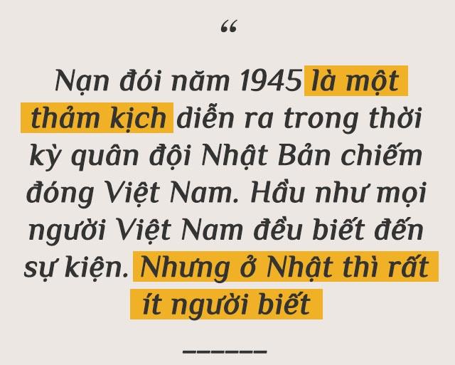 Tac gia Nhat bo tien tui nghien cuu ve nan doi tham khoc o Viet Nam hinh anh 4